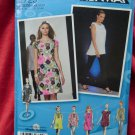 Simplicity Pattern # 2725 UNCUT Project Runway Misses Dress Tunic Size 4 6 8 10 12