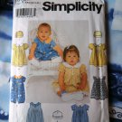 Simplicity Pattern # 9602 UNCUT Baby Infant Romper Hat Size XS Small Medium Large