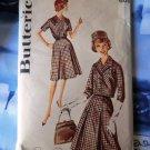 Vintage Butterick Pattern UNCUT # 9898 Dress Jacket Size XL Bust 46 inches
