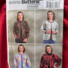 Butterick Pattern # 4056 UNCUT Woman's Patchwork Jacket Size Large XL