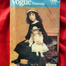 Vogue Pattern # 7290 UNCUT 20 Inch Doll Dress