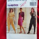 Butterick Pattern # 5220 UNCUT Misses Jacket Top Mock Sarong Skirt Size 6 8 10