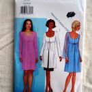 Butterick Pattern #  3094 UNCUT Misses A-Line Dress Size 12 14 16