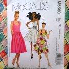McCall's Pattern # 5580 Laura Ashley Summer Dress Size 14 16 18 20
