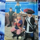 Simplicity Pattern # 7965 UNCUT Boys Girls Costume Pirate Peter Pan Size Small Medium Large