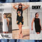 Vogue Pattern # 1809 UNCUT DKNY Misses Dress Size 8 10 12