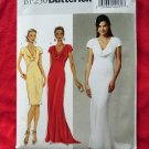 Butterick Pattern # BP 250 UNCUT Wedding Bridesmaid Dress Size 6 8 10 12 14