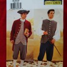 Butterick Pattern # 3072 UNCUT Men's Colonial Costume Coat Pants Vest Size 38 40 42