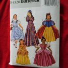 Butterick Pattern # B 4320 UNCUT Girls Child Costume Size 2 3 4 5 Princess Dorothy