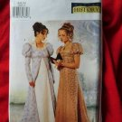 Butterick Pattern # 6630 UNCUT Misses Costume Empire Gown Dress & Petite Coat Size 6 8 10