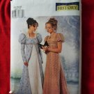Butterick Pattern # 6630 UNCUT Misses Costume Empire Gown Dress & Petite Coat Size 18 20 22