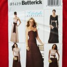 Butterick Pattern # 5419 UNCUT Misses/Women's Dress Formal Long Size 8 10 12 14