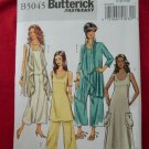 Butterick Pattern # 5045 UNCUT  Misses Cover-up Top Tunic Dress Pants Large XL
