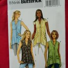 Butterick Pattern # 5646 UNCUT Misses Tops Size Large XL XXL