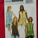 Butterick Pattern # 5646 UNCUT Misses Tops Size Large XL XXL