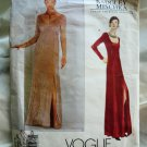 Vogue Pattern # 2073 UNCUT BADGLEY MISCHKA Long Dress Formal Size 18 20 22
