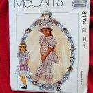 McCall's Dorothy Dear Girl's Pattern # 8174 UNCUT Size 2 3 4