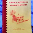 Kalona Iowa Community Cookbook 1980's