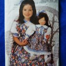 "Butterick Pattern # 6372 UNCUT 23"" Doll Dress by Rachel Wallis"