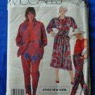 McCalls Pattern # 2365 UNCUT Misses Shirt, Top, Skirt Pants Size 14