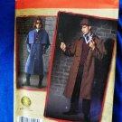 Simplicity Pattern # 2517 UNCUT Mens Sherlock Holmes Coat Hat  46 48  50 52
