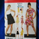 Simplicity Pattern # 3833 UNCUT Misses Dress Retro 60's Size 6 8 10 12 14