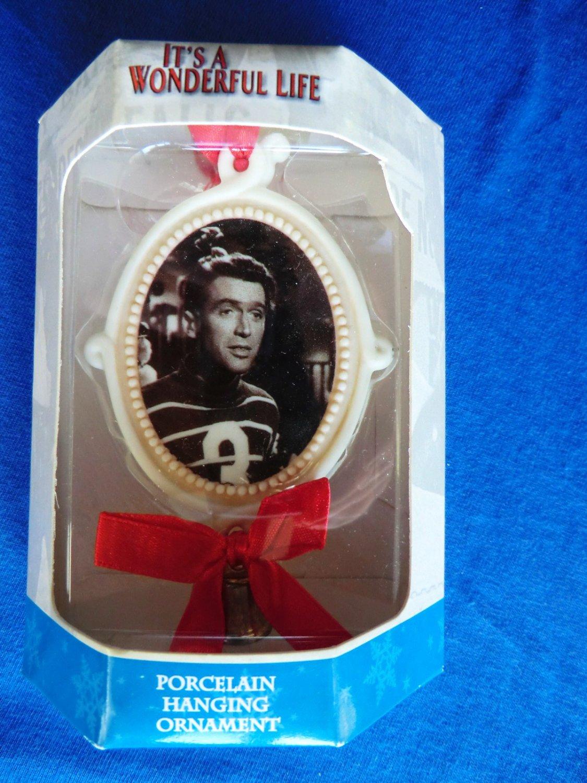 "SOLD! It's a Wonderful Life Rare Ornament ~ George & Mary Bailey~ "" I Love You Truly"" NIB"