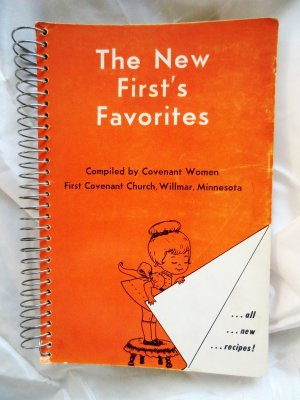 Vintage 1966 Willmar Minnesota (MN) Church Cookbook  Swedish Scandinavian
