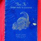 Vintage 1964 Jewish Cookbook Tam Tov Good Taste in Cooking Temple Aaron St Paul MN