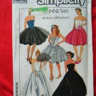 Simplicity Pattern # 8534 UNCUT Misses Evening Dress by Gunne Sax Size 12 ~ Vintage 1988