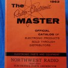 Vintage 1963 Radio Parts Electronic Master Catalog HUGE Book