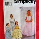 Simplicity Pattern # 9147 UNCUT Girls Dress Jacket Special Occasion Size 6 7 8