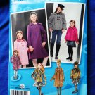 Simplicity Project Runway Pattern # 2876 UNCUT Coat Jacket Hat Size 7 8 10 12 14