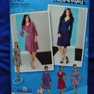 Simplicity Project Runway Pattern # 2145 UNCUT Misses Dress Size 4 6 8 10 12