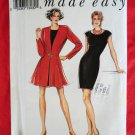 Style Pattern # 2201 UNCUT Misses Dress Jacket Size 8 10 12 14 16 18