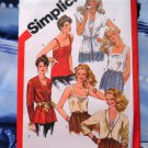 Simplicity Pattern # 5352 UNCUT Misses Camisole Jacket Size 14 Vintage 1981