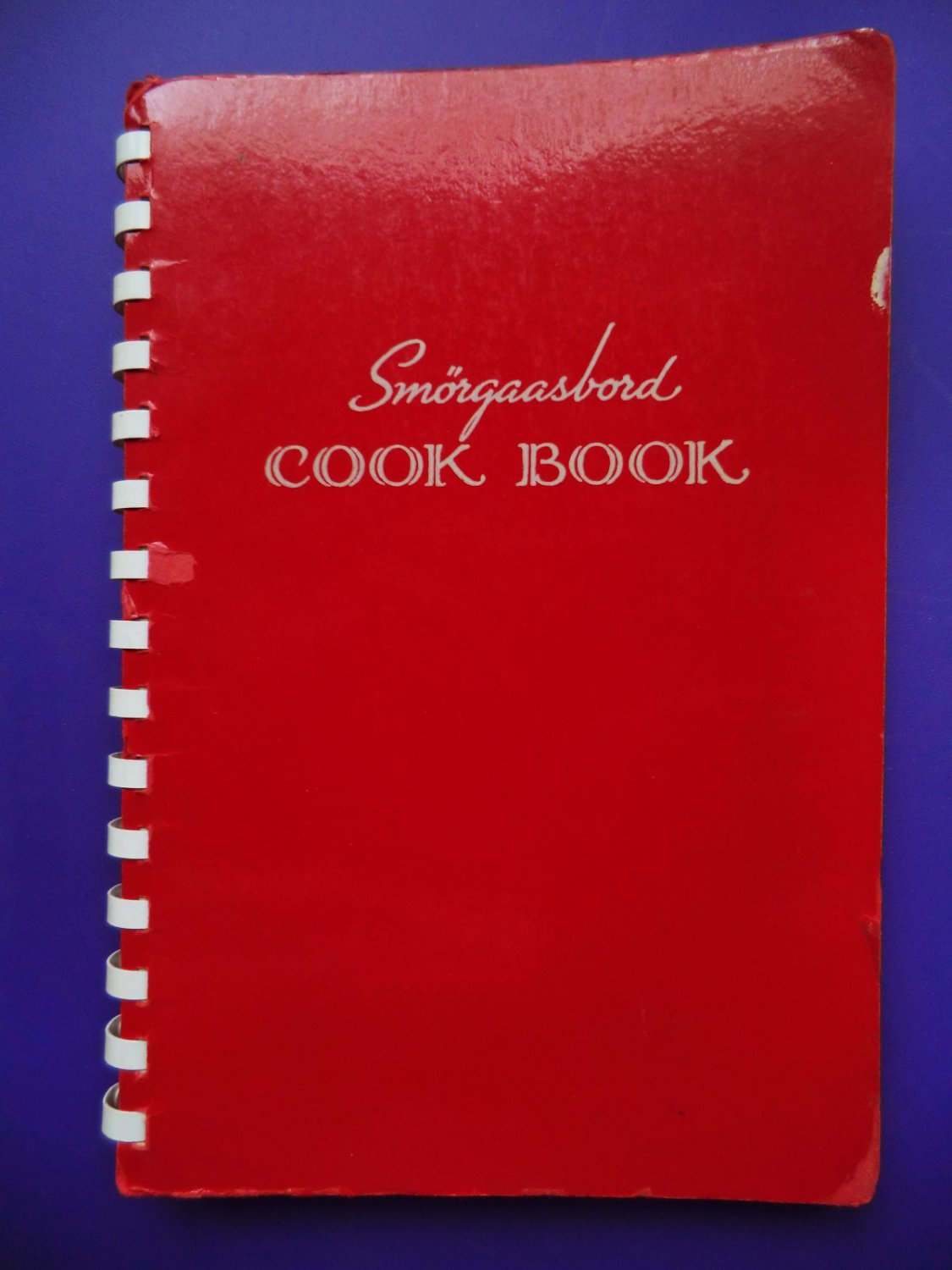 SOLD! Minneapolis Minnesota Church Cookbook Swedish Norwegian Scandinavian Recipes Smorgasbord
