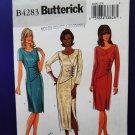 Butterick Pattern # 4283 UNCUT Misses Dress Size 14 16 18 20