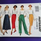 Butterick Pattern # 3163 UNCUT Misses Pants Skirt Size 6 8 10