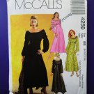 McCalls Pattern # 4250 UNCUT Misses Peasant Dress Size 8 10 12 14
