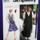 Simplicity Pattern # 7504 UNCUT Misses Jumper Top Size 6 8 10