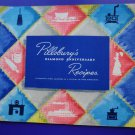 Pillsbury's Diamond Anniversary Recipes - Recipe Book ~ Cookbook Vintage 1944