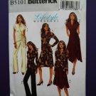 Butterick Pattern # 5101 UNCUT Misses KNIT Wardrobe Pants Top Skirt Dress Size Large XL