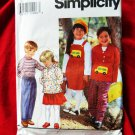 Simplicity Pattern # 9178 UNCUT Child's Coat Top Skirt Pants Size 5 6 6X