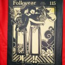 Folkwear Pattern # 115 UNCUT  Misses Pleated Chinese Wrap Skirt Size 6 8 10 12 14 16