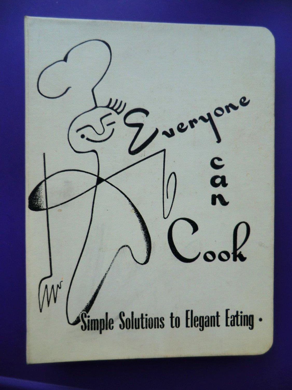 Vintage 1952 Minneapolis Minnesota Cookbook Everyone Can Cook Mpls MN