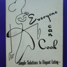 Vintage 1952 Minneapolis Minnesota Cookbook Everyone Can Cook Mpls MN