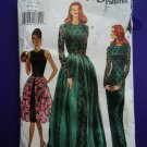 Vogue Pattern # 8818 UNCUT Misses Gown Special Occasion Dress Size 8 10 12