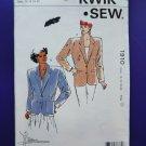 Kwik Sew Pattern # 1910 UNCUT Misses Blazer / Jacket Size 14 16 18 20