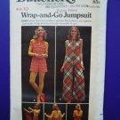 Vintage Butterick Pattern # 6716 UNCUT  Halter Jumpsuit Size 10